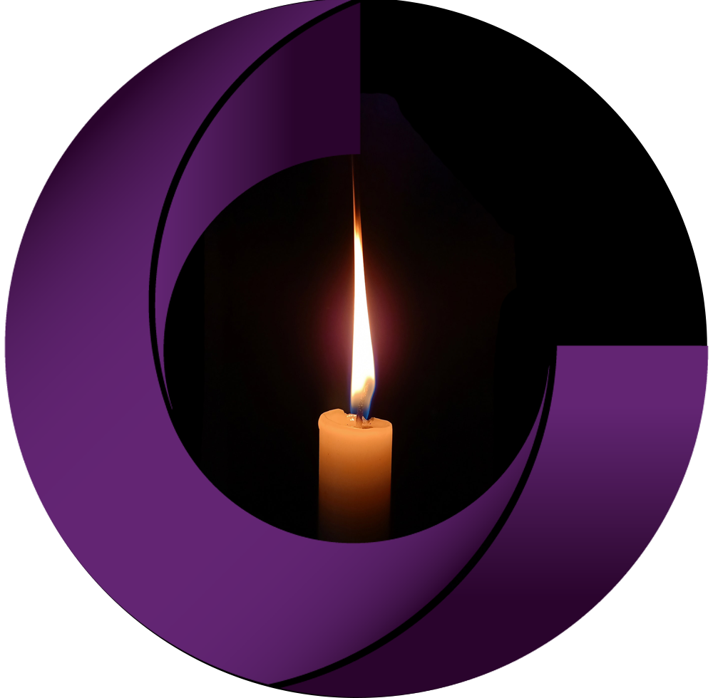 A candle within the Chorley logo