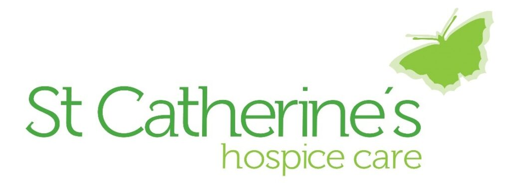 St Catherine's hospice care logo